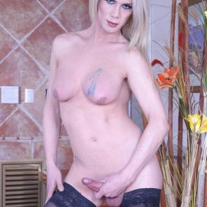 Blonde Trans Spreads For Anal #243392