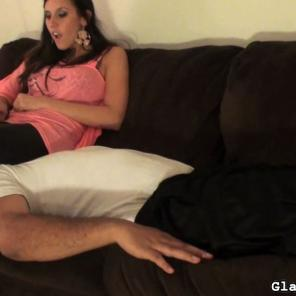 Girl with a riding crop humiliates her guy 36 #403777
