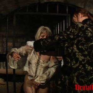 BDSM Gangbangs are just how the beatiful Blonde Amalia serves her prison sentence #427297