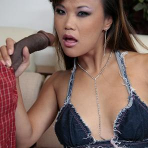Asian Chick Does Interracial #444594