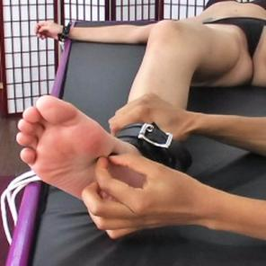 Delightful Ebony Tickle Torture2 #507764