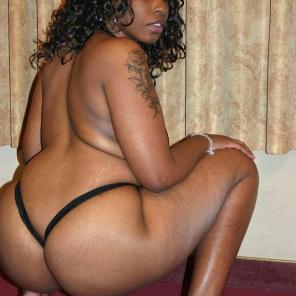 Ass Spreading Ebony Tasha #541867