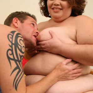 Nude porn Pics with Cock Stuffed BBW
