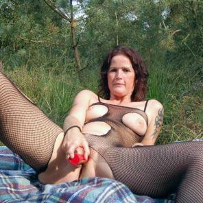 Outdoor Toy Fucked Mature #552529