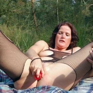 Outdoor Toy Fucked Mature #552531