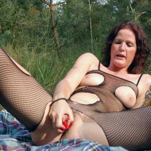 Outdoor Toy Fucked Mature #552532