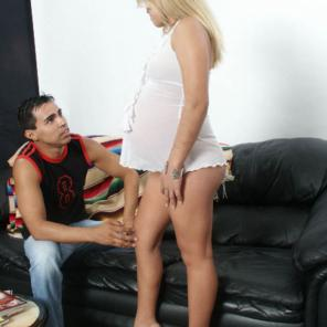 Pregnant Blonde Blowjob #553215