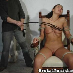 Brutal Whipping, Spanking, Corporal Punishment, Flogging, BDSM, and Suspension #554706