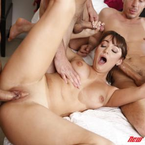 Charlotte Cross - My Sister's First Gangbang #574916