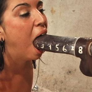 Gagging on Bondage Cock1 #585266